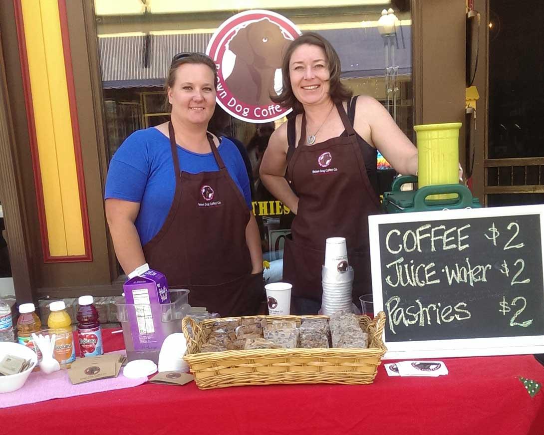 Coffee in Salida at Brown Dog