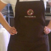Brown Dog Coffee Company Apron