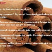 Cinnamon Tips