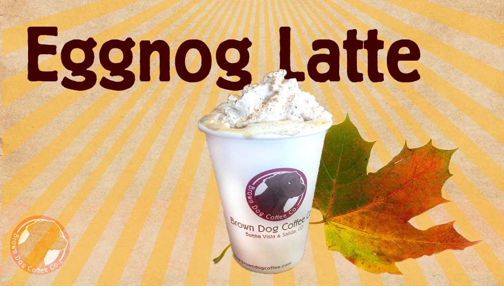 Welcoming back the Eggnog Latte in November