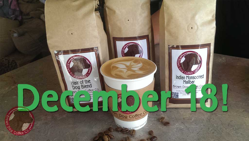 Place Coffee Club subscriptions by December 18th for Christmas gifts!