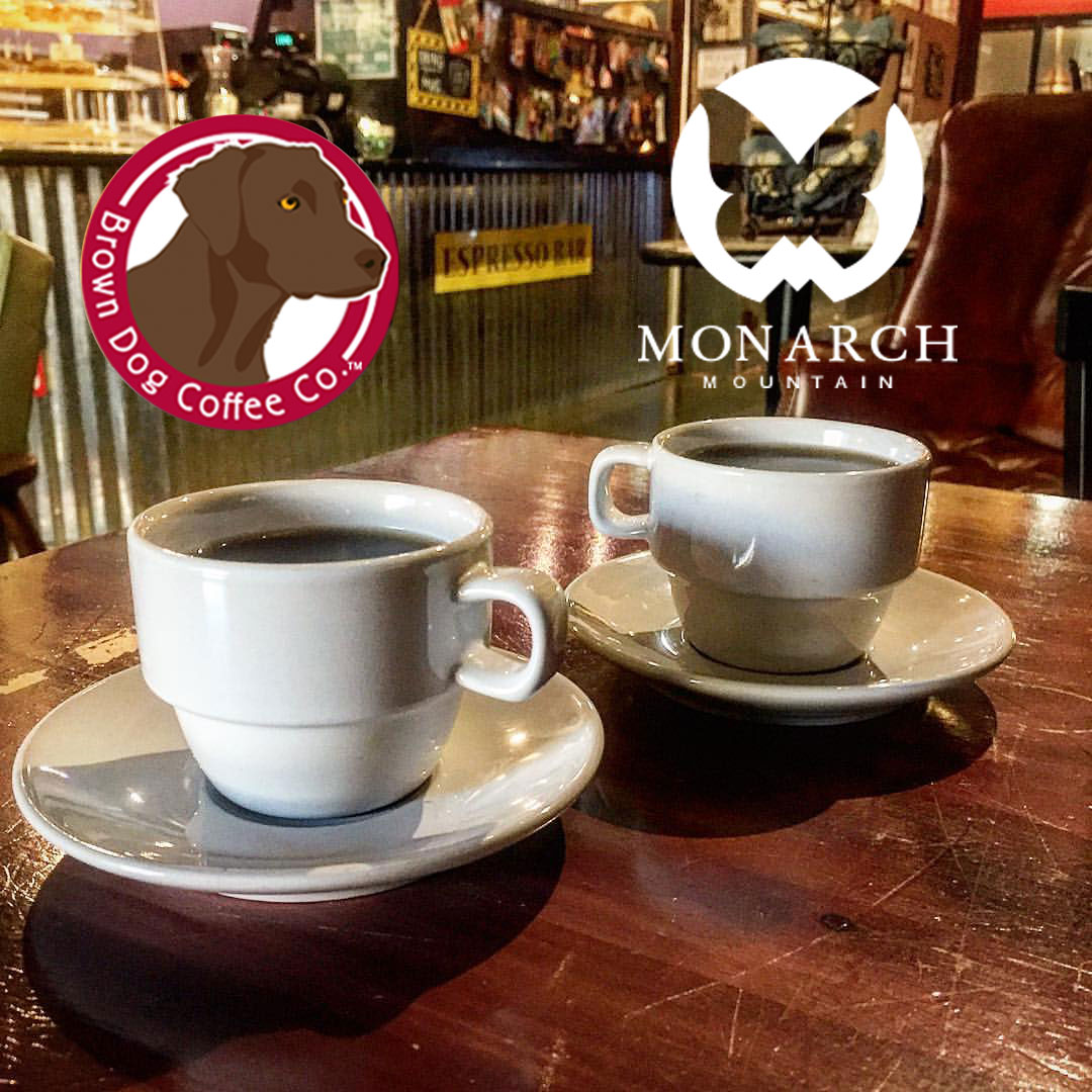 Brown Dog Coffee Company is partnering with Monarch Ski Resort