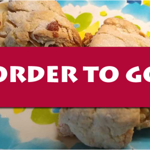 order to go